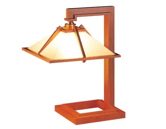 Frank Lloyd Wright(フランクロイドライト)「TALIESIN 1(タリアセン1)」チェリー照明器具テーブルライトフロアライトインテリア送料無料シリアルナンバー1995年グッドデザイン賞受賞