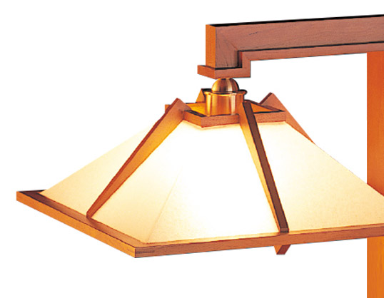 Frank Lloyd Wright Taliesin 1 Mini Cherry Lighting Fixtures Table Lamp Floor Light Interior Serial Number Stand