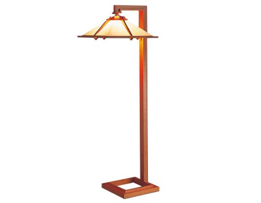 Frank Lloyd Wright(フランクロイドライト)「TALIESIN 1FLOOR (タリアセン1 フロア)」チェリー照明器具フロアライトインテリア送料無料インテリアシリアルナンバー