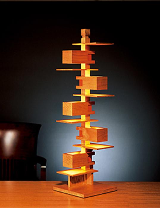 Frank Lloyd Wright(フランク・ロイド・ライト)「TALIESIN 3 (タリアセン3)」チェリー照明器具フロアライトインテリア送料無料インテリアシリアルナンバー現代に蘇ったF.L.Wの名作
