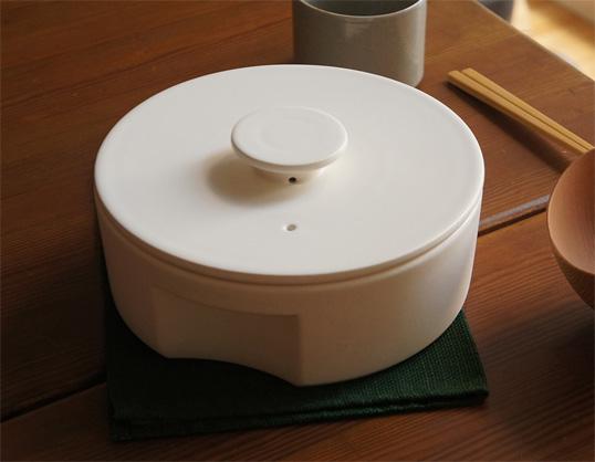 Ceramic Japan/セラミックジャパン土鍋 do-nabe Lサイズ秋田道夫伝統技術が生かされた土鍋直火用(高耐熱)素材オーブンや電子レンジにも対応大きさは大人数に対応できるLサイズキッチン用品ギフト プレゼント送料無料