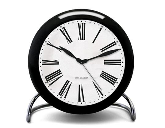 ROSENDAHL Arne Jacobsen アルネ・ヤコブセン テーブルクロック ローマンローゼンダール送料無料アラームクロック卓上時計インテリアギフト プレゼントLEDライト スヌーズリビング 寝室