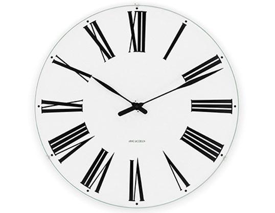 ROSENDAHL Arne Jacobsen アルネ・ヤコブセンウォールクロック ローマン 160mmローゼンダール送料無料壁掛時計インテリアリビング ダイニングギフト プレゼント