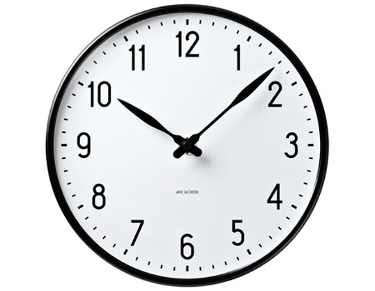 ROSENDAHL Arne Jacobsen Station Clock 290mmアルネ・ヤコブセンウォールクロック ステーション 290mmローゼンダール送料無料壁掛時計デザイナーズクロックリビングエントランスギフト プレゼント