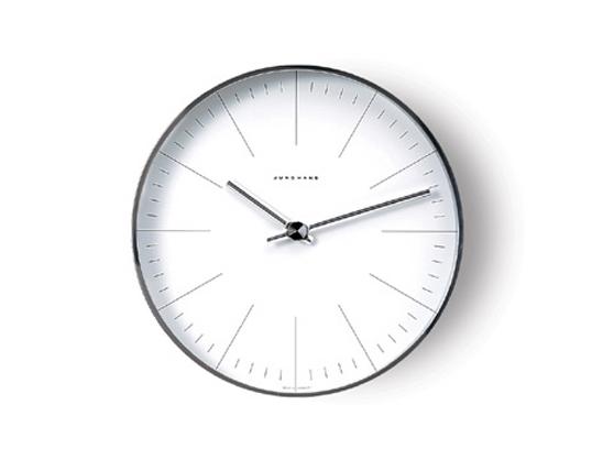 MaxBill モデル367 6046 送料無料 ユンハンス マックス・ビルインテリアウォールクロック壁掛時計MoMAパーマネントコレクションバウハウス
