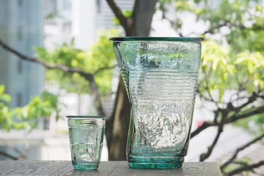 Plottokyo Rakuten Global Market Xia Crushed Glass Bottle Cooler