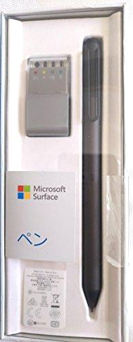 マイクロソフト 保証 純正 Surface Pro Surfaceペン 出群 3XY-00017 ブラック 4対応