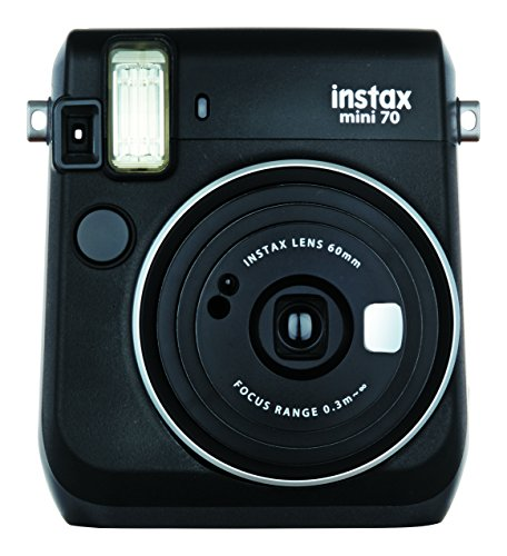 FUJIFILM インスタントカメラ チェキ instax mini70 ブラック 70 BLACK INS 大注目 MINI デポー