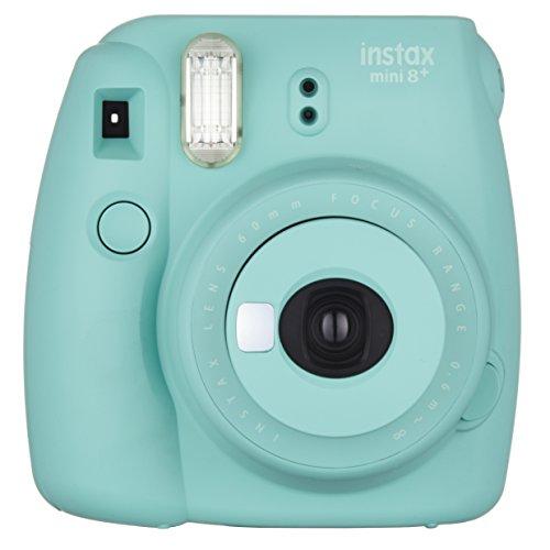 FUJIFILM インスタントカメラ チェキ お得 instax mini8プラス 接写レンズ MINT ミント MINI 新品 純正ハンドストラップ付き 8P INS