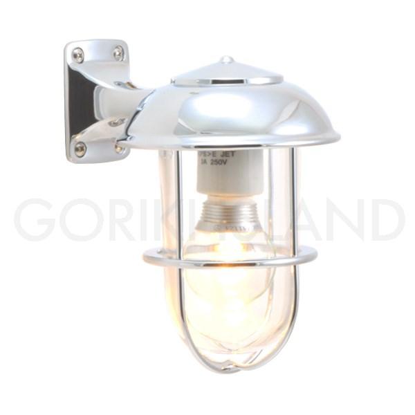 照明 エクステリアライト LED仕様 クローム・シルバー(銀色)BR5000 CR CL LE 送料無料