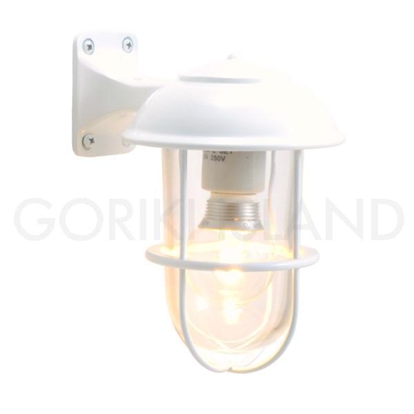照明 NEW売り切れる前に☆ エクステリアライト LED仕様 ホワイト 再再販 白 LE送料無料 BR5000 WH CL