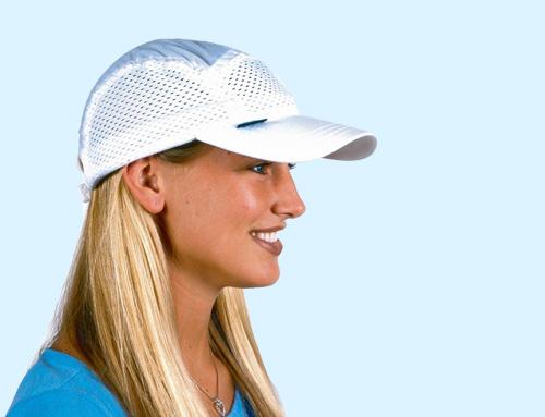 【レターパック発送】で送料無料 頭部冷却ハット ひえひえクールキャップ ホワイト スポーツキャップ 白帽子 メッシュ通気性