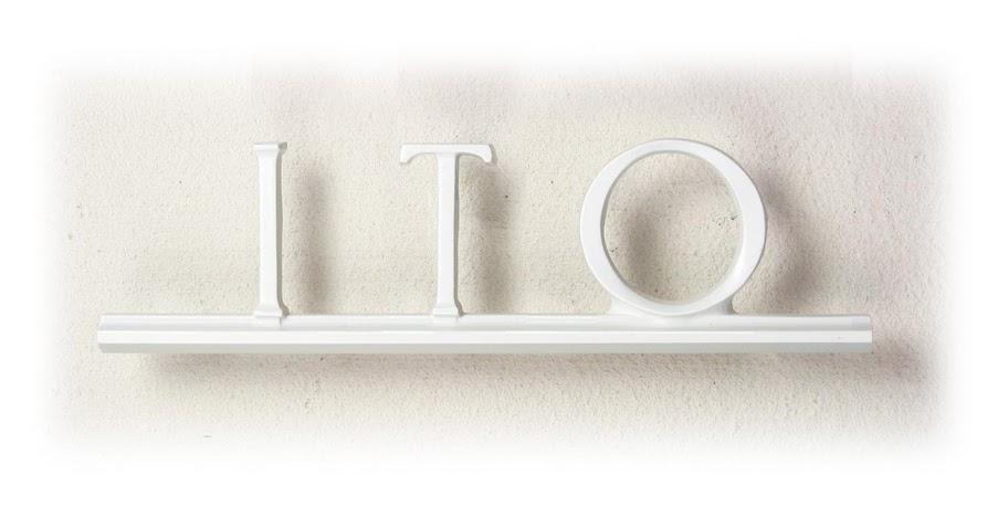 表札 アルミ鋳物文字サイン A-04 Sタイプ 丈夫で錆びないアルミ鋳物 モダンなデザイン ディーズガーデン 送料無料