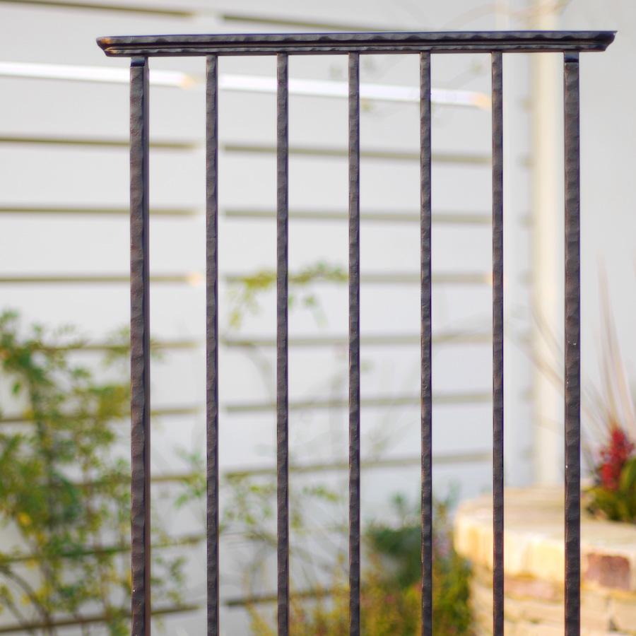 スクリーンフェンスW500 ワイドタイプ 壁の端部を飾るガーデン・オーナメント アルミ鋳物製 送料無料