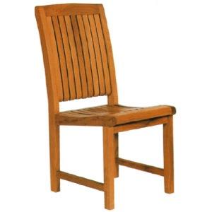 ガーデンチェアー ツナミ チェアー オイル加工なし チーク材 お庭向けの椅子
