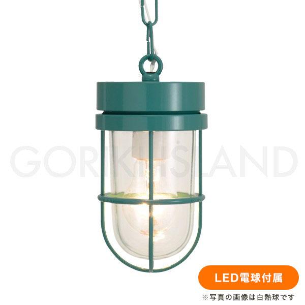 マリンランプ 照明 ペンダントライト LED 屋外対応 P6000 MG CL LE【送料無料】