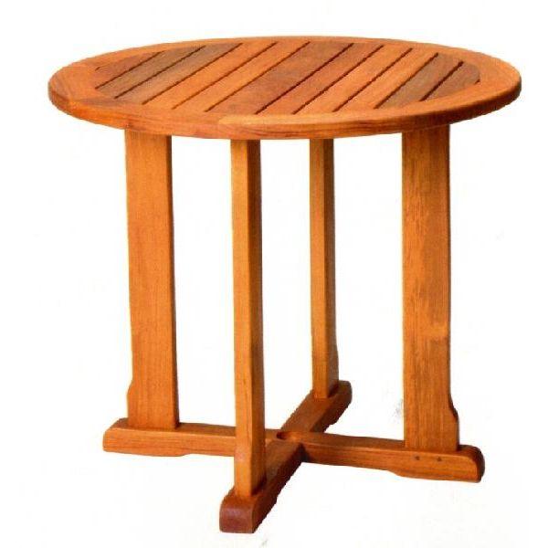 ガーデンテーブル バンドゥンテーブル 小 オイル加工なし チーク材 お庭向け