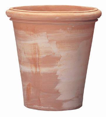 シンプルでベーシックな鉢植え(はちうえ) フラワーポットやベジタブルプランター、鉢カバーにおしゃれなガーデニング用の植木鉢(通販) テラコッタ製プランター ベノッチ アルトポット 64L 底穴あり 送料無料
