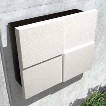 ポスト 壁掛けポスト パーサスネオ 玄関に安心の鍵付き郵便受け 送料無料