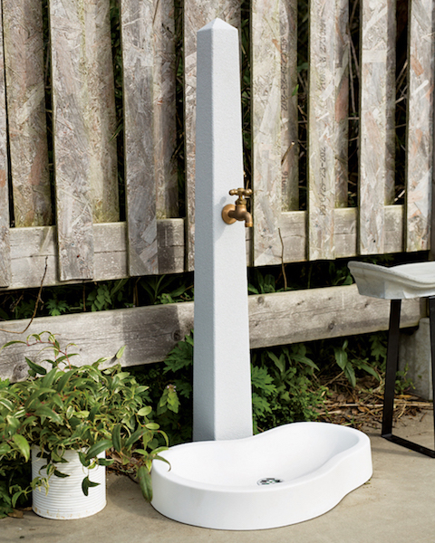 立水栓 ユナイト トーレ ガーデンパン+蛇口セット 外水栓 送料無料