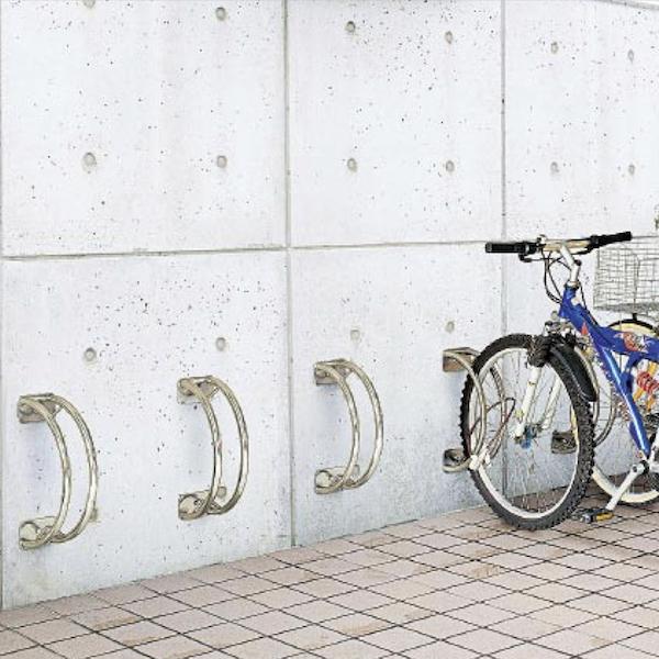 サイクルラック S 3型 低位タイプ 前輪式 駐輪場向け自転車スタンド 送料無料