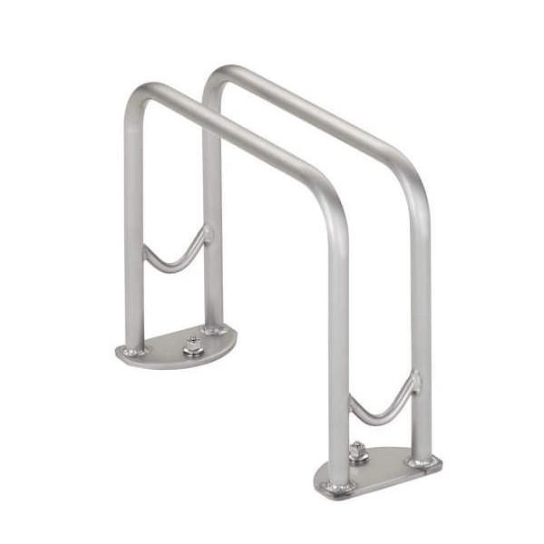 サイクルラック SS-1型 低位タイプ 前輪式 駐輪場向け自転車スタンド 送料無料