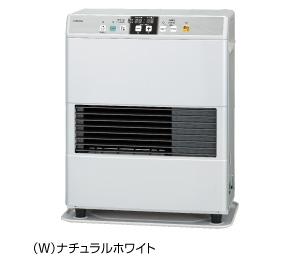 コロナ FF式温風ヒーター 【FF-VG3515S(W)】 ビルトインタイプ 防火性能認証品 別置タンク式 ナチュラルホワイト