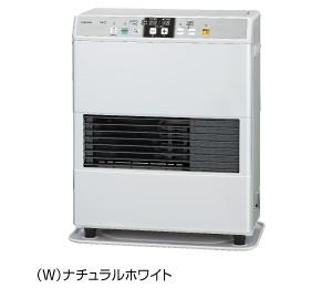 コロナ FF式温風ヒーター 【FF-VG3515Y(W)】 標準タイプ カートリッジタンク式 ナチュラルホワイト