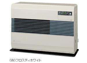 コロナ FF式温風ヒーター 【FF-7414(W)】 標準タイプ 別置タンク式 フロスティホワイト