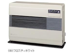コロナ FF式温風ヒーター 【FF-10014(W)】 標準タイプ 別置タンク式 フロスティホワイト