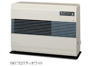 コロナ FF式温風ヒーター 【FF-B7414(W)】 ビルトインタイプ 防火性能認証品 別置タンク式 フロスティホワイト