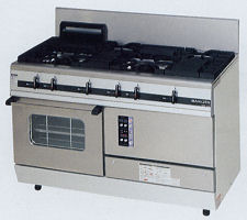 マルゼン(MARUZEN) 熱機器 【MGRX-126D】 パワークックガスレンジ