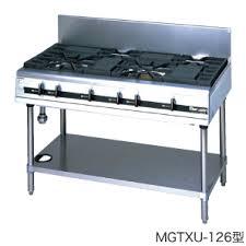 マルゼン(MARUZEN) 熱機器 【MGTXU-096】 パワークックガステーブル