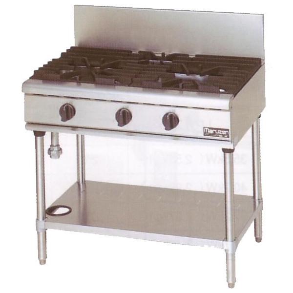 マルゼン(MARUZEN) 熱機器 【RGT-0963C】 NEWパワークックガステーブル