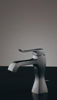 カクダイ(KAKUDAI) 水栓金具シリーズ 【183-170GN】 日本デザイン RATONA シングルレバー混合栓(マットブラック)