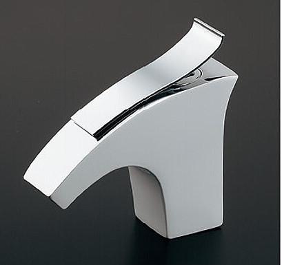 カクダイ 洗面手洗水栓金具【716-243-13】立水栓(ホワイト) 取付穴径22-28ミリ・厚5-35ミリ