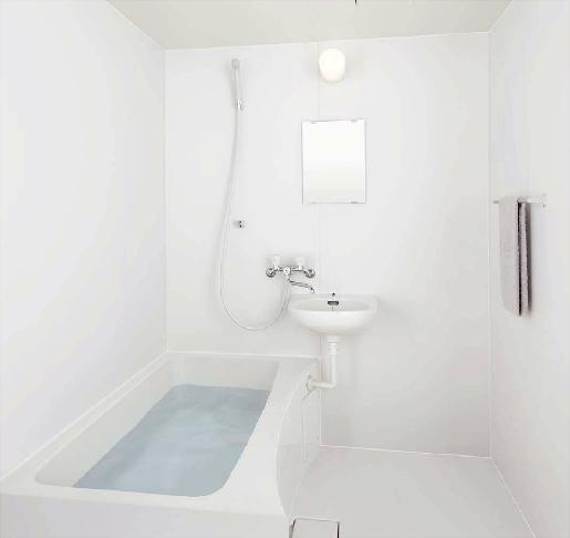 LIXIL INAX 集合住宅用ユニットバスルーム【BLW-1014LBE+H(C)】浴槽・洗面器付 1014サイズ BLWシリーズ