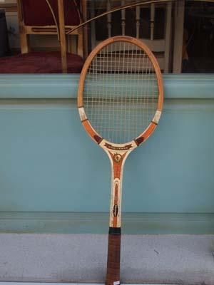 アンティーク雑貨 テニスラケット