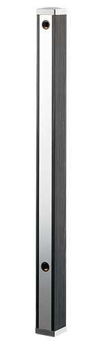 カクダイ 水栓柱 70角タイプ 長さ1000mm 黒木目 624-171