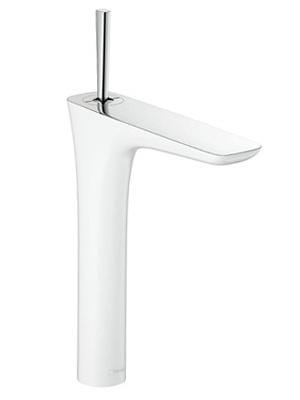 CERA 洗面水栓 Pura Vida 湯水混合栓 HG15072T-40【ホワイト&クロム】