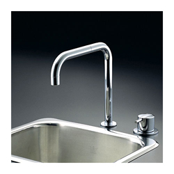 CERA ボラ 湯水混合栓 クロム VL590-16 接続アダプタ別途2個付
