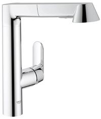 グローエ キッチン水栓 K7シリーズ シングルレバーキッチン混合栓 32177 000