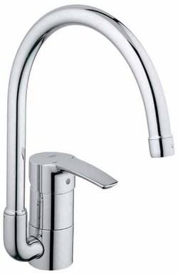 グローエ キッチン水栓 EUROSTYLEシリーズ シングルレバーキッチン混合栓 30016 001