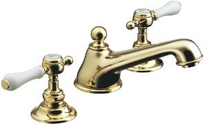 CERA 洗面水栓 温水混合栓 HR54260T-PB【ブラス】
