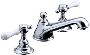 CERA 洗面水栓 温水混合栓 HR54260S-CH【クロム】