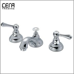 CERA 洗面水栓 湯水混合栓 CET7102【クロム】