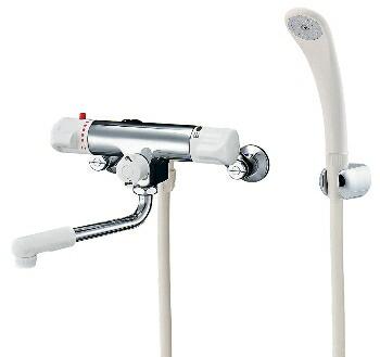 カクダイ 水栓金具 【173-132】 サーモスタットシャワー混合栓(逆配管)
