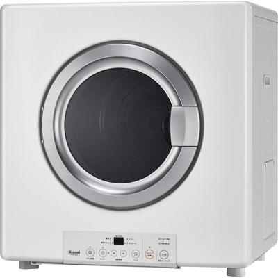 リンナイ ガス衣類乾燥機 乾太くん 乾燥容量5.0kgタイプ 右開き RDT-54S-SV ガスコード接続タイプ