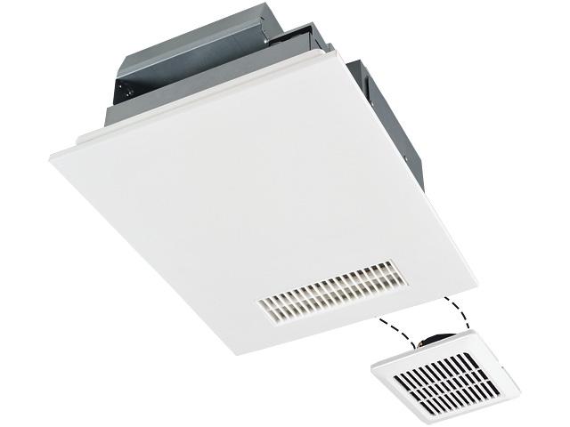 三菱電機 浴室暖房乾燥機 V-242BZL バスカラット24 24時間換気機能付 単相200V電源ハイパワータイプ/2部屋用(1部屋暖房/2部屋換気)タイプ/DCブラシレスモーター