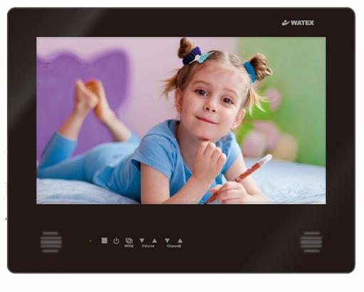 ワーテックス(WATEX)浴室テレビ WMA-160-F(B) ピアノブラック 16インチ 地上デジタル防水テレビ リモコン・ホルダー付属